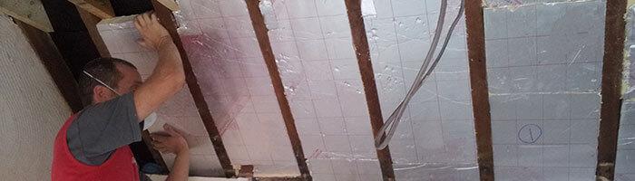 Утеплитель PIR-плита для теплоизоляции внутри помещений