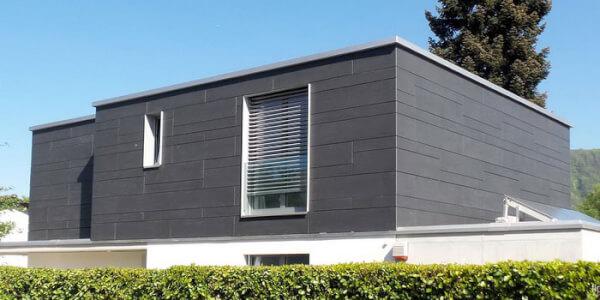 Монтаж утеплителя PIR плита на навесном фасаде